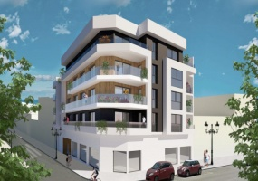 New stunning apartment block in Guardamar area. The complex comprises 12 apartments on 4 floors. At the street level there will be a SPA department. on the roof of the building are each our own warehouse and a terrace. Garage parking at extra cost.